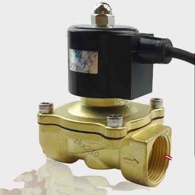 1 1 4 Inch 2w Series Waterproof Coil Air Water Oil Gas Solenoid Valve Brass Electromagnetic Valve Oil And Gas Cool Things To Buy Gas