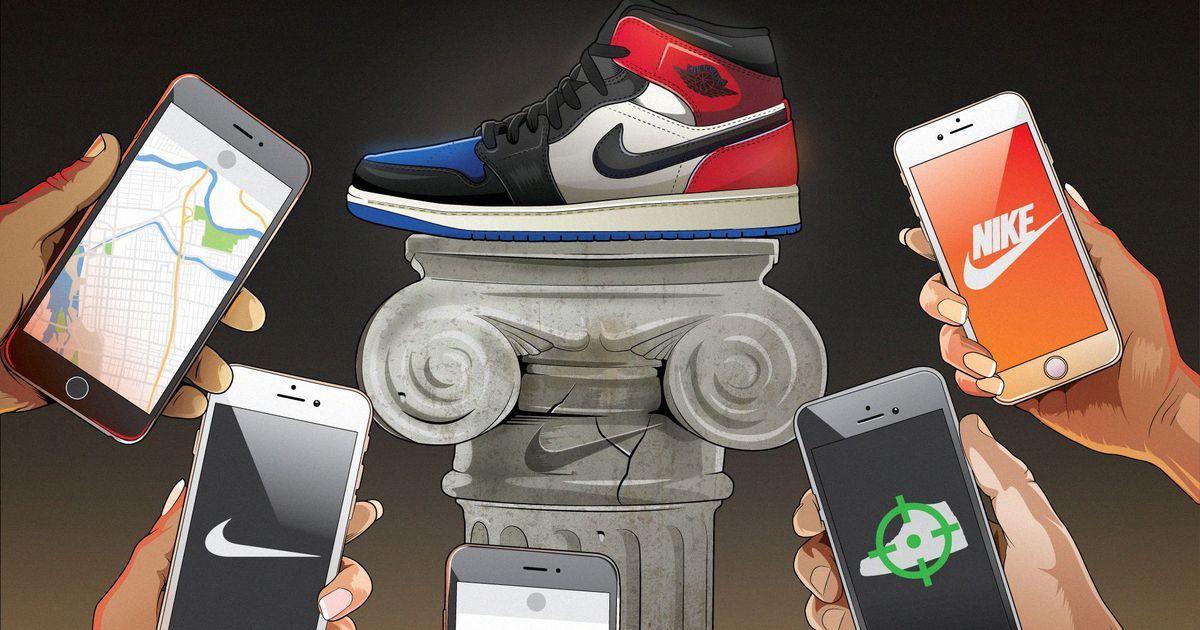 How Nike turned the shoe drop into a hightech treasure