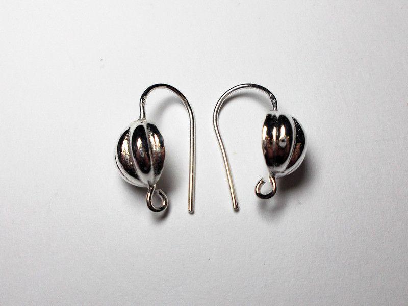Ohrhaken - Ohrhaken 925 rhodiniert - ein Designerstück von…