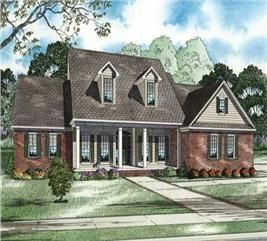 Rustic Country House 3 Bedrms 5 Baths 2683 Sq Ft Plan 202 1028