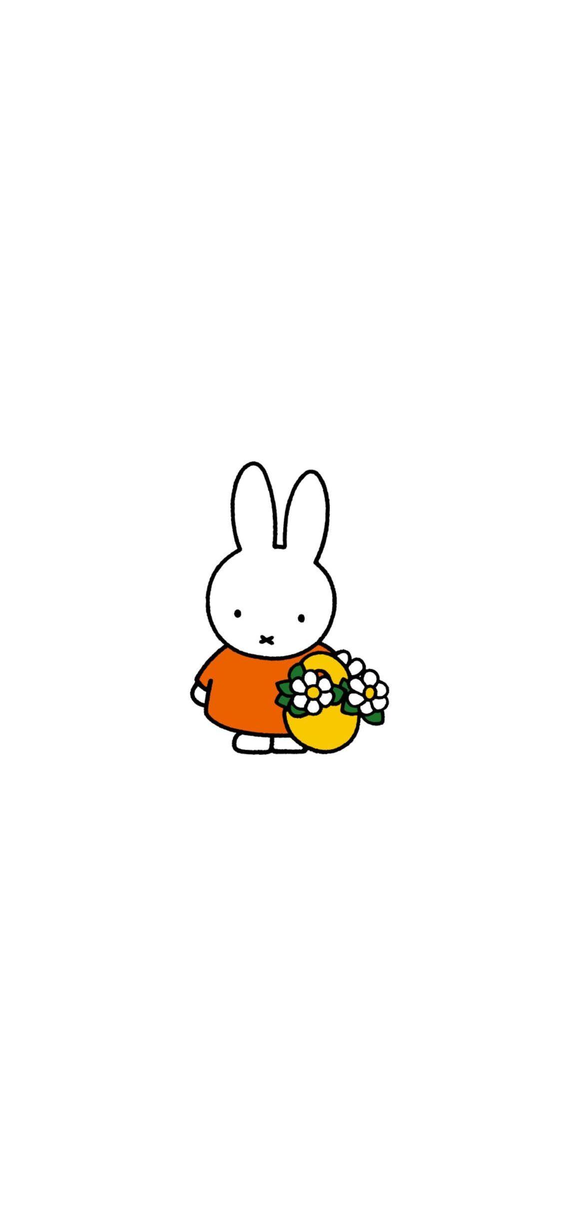 미피 Miffy 아이폰 배경화면 모음 Miki Miffy Backgrounds