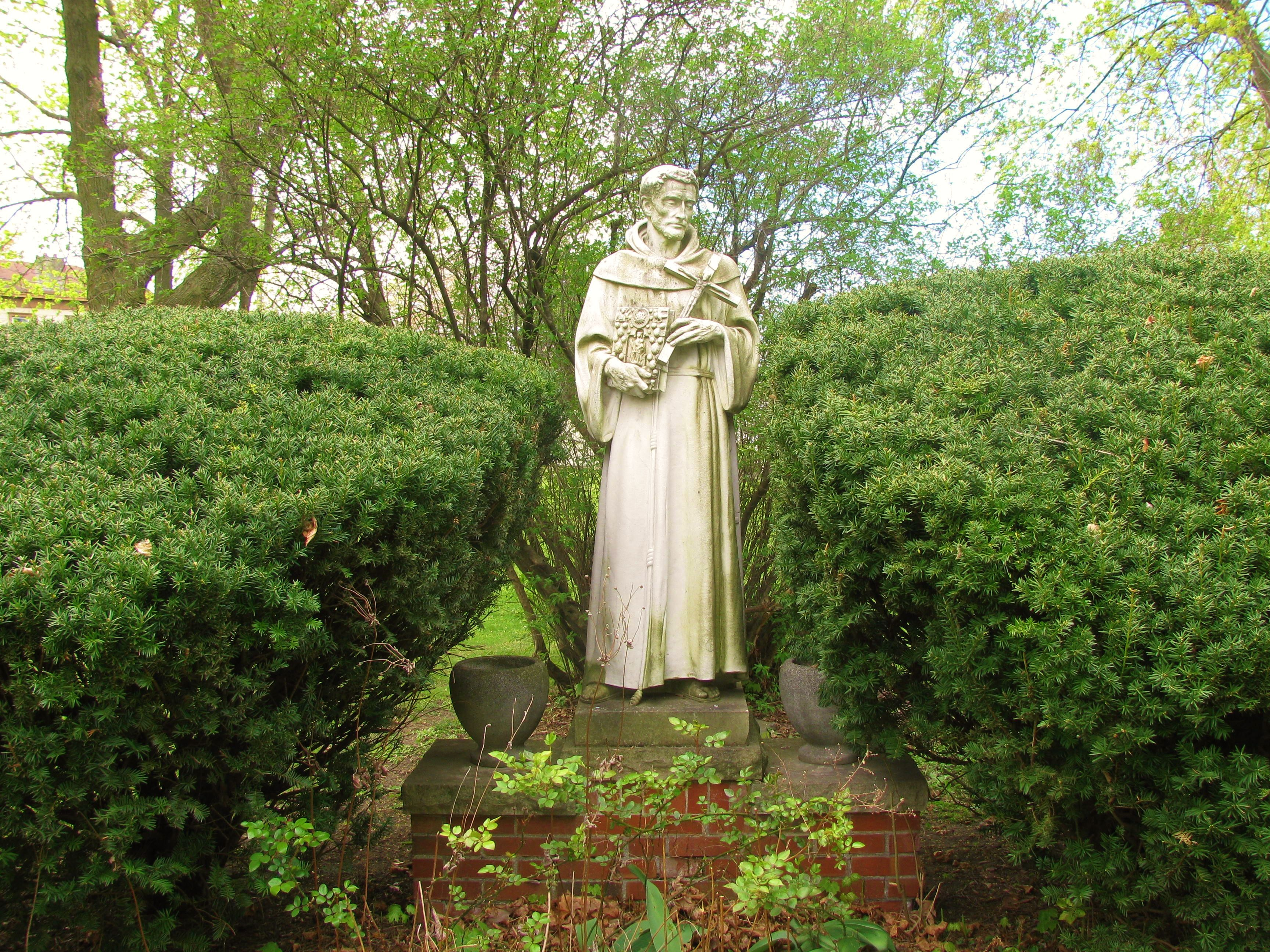 Statue of St. Anthony on the Franciscan Motherhouse