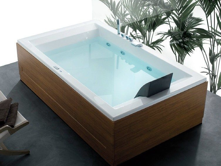 Vasca Da Bagno Hafro : Whirlpool wooden bathtub era plus era collection by hafro