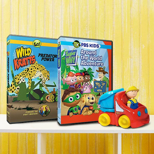 Take a look at the PBS Kids Collection event on zulily today!