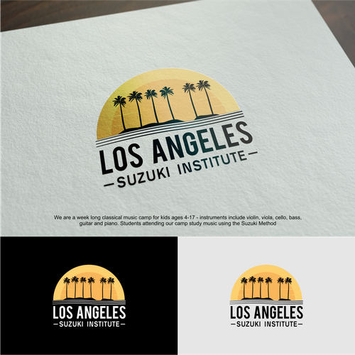 Los Angeles Suzuki Institute 99nonprofits Design An Artsy Classic Logo For Children S Music Camp Los Angeles Suzuki Insti Childrens Music Music Camp Logos