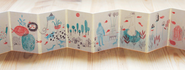 Little book by Marion Barraud, via Behance