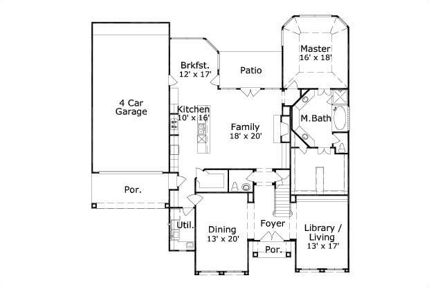 House Plan Chp 38341 At Coolhouseplans Com Unexpectedly Well Laid Out House Plans Mediterranean House Designs Mediterranean House Plans