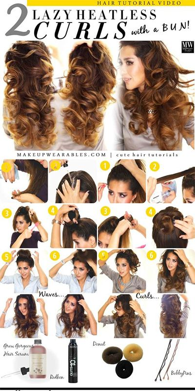 c04307e812d0f5df5a6b167bbef0747f - How To Get Curly Hair Without Heat Or Products