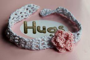 FREE Crochet Patterns: Crochet Baby Headband Free crochet Patterns