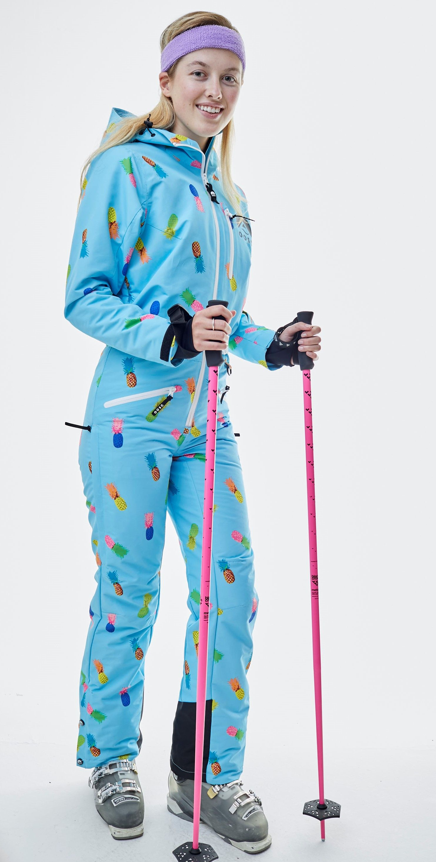Club Tropicana Women S One Piece Ski Suit Oosc Clothing Skiing Outfit Ski Women Clothes