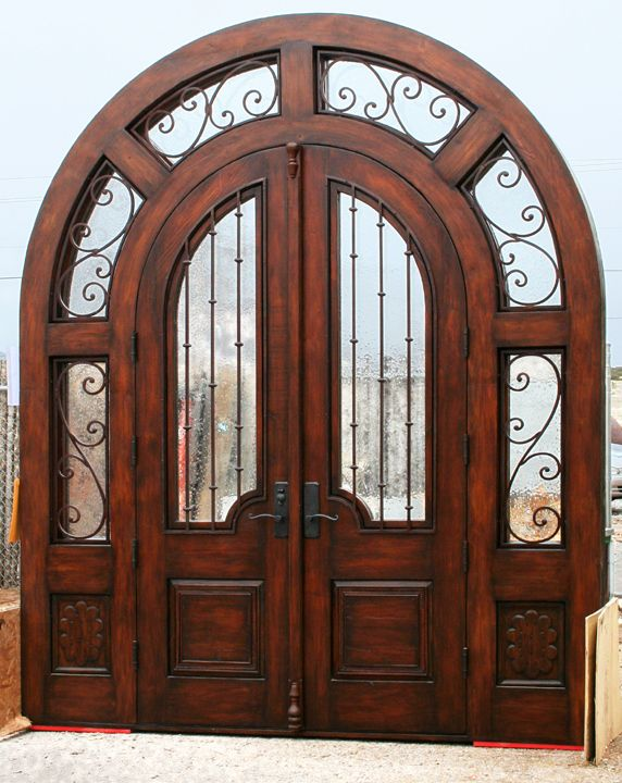 Image detail for -Custom Front Entry - Double Doors with Sidelites ...