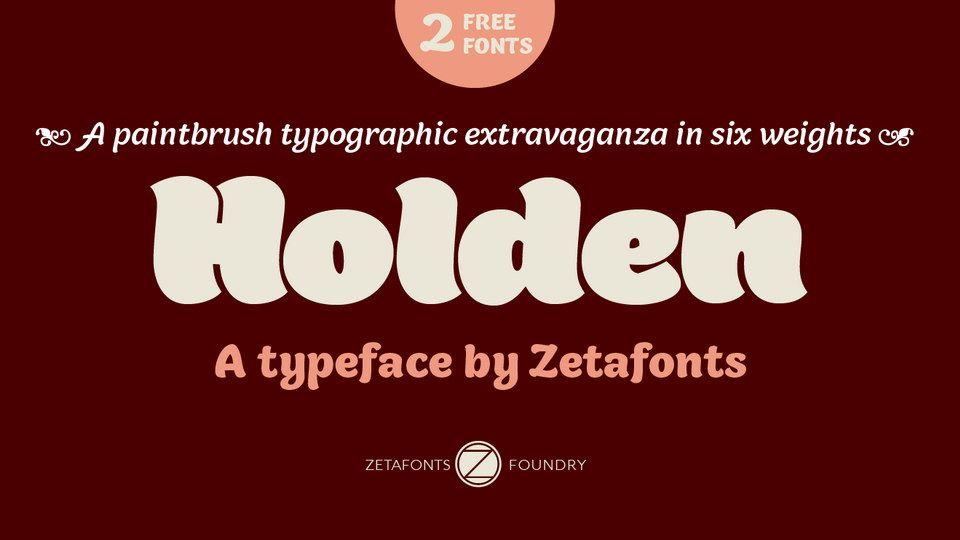 Holden Free Font Free Font Free Fonts