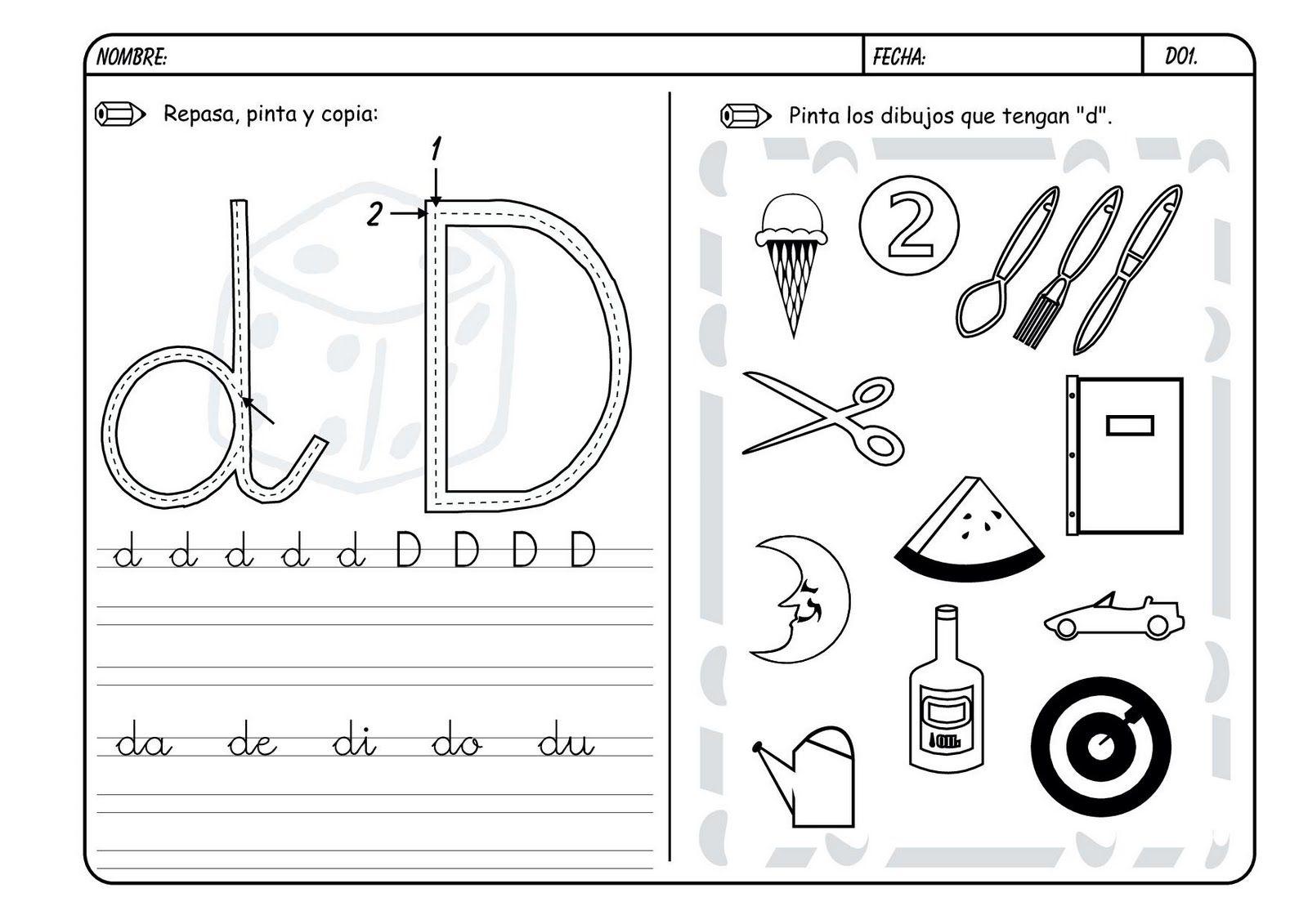 Lectoescritura Con Las Consonantes Hoy Trabajamos La