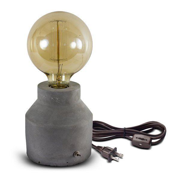 Freelon Concrete 11 Quot Table Lamp Lamp Unique Table Lamps