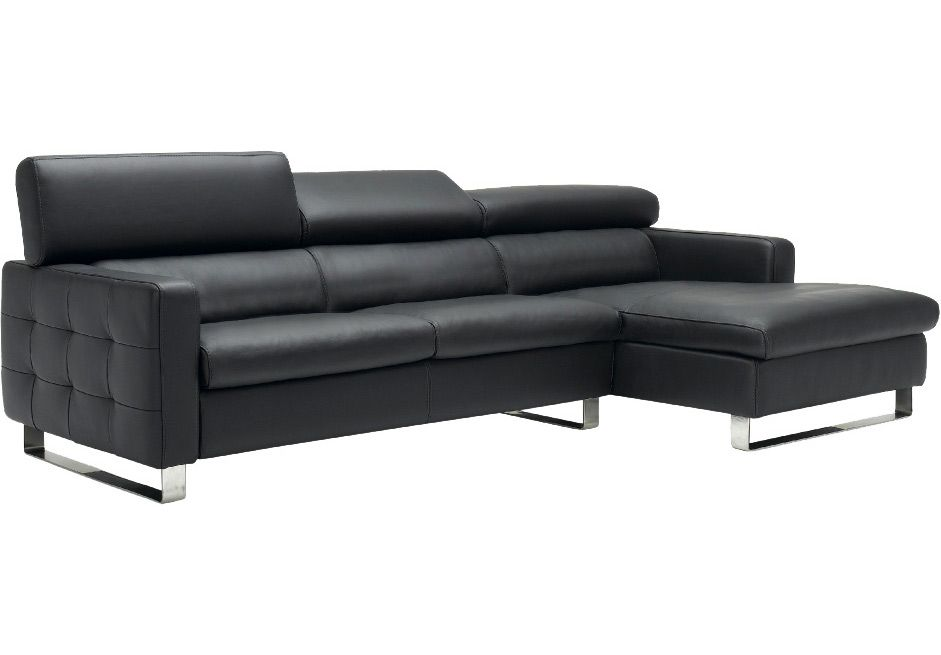 Media Room Furniture Modern Leather Living On Fabric Sofas