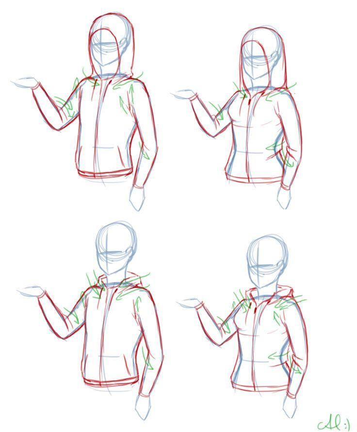 How to draw hoodies google search