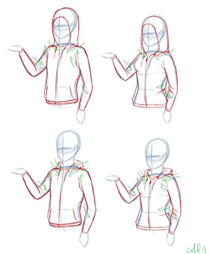 How To Draw Hoodies Google Search Bocetos Como Dibujar Ropa Tutorial De Dibujo