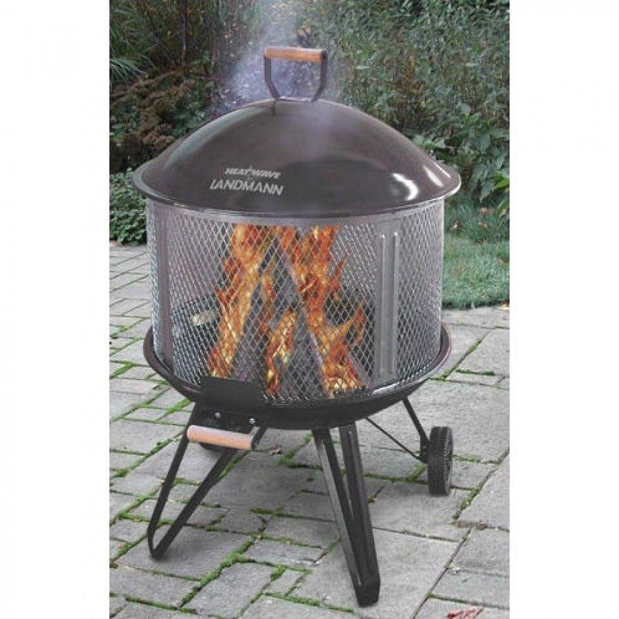 Landmann Deluxe 28 Heatwave Fire Pit 28008 şömineler Barbekü Bahçe şöminesi