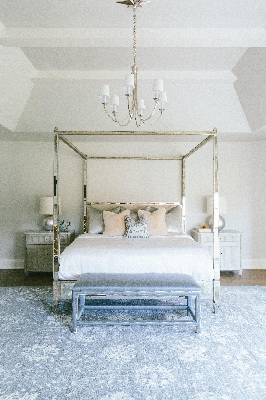 Kate Marker Interiors Vine Residence Chic bedroom