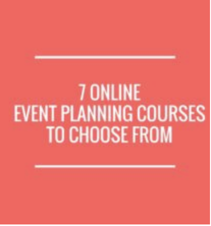 there are many different online event planning courses to choose ...