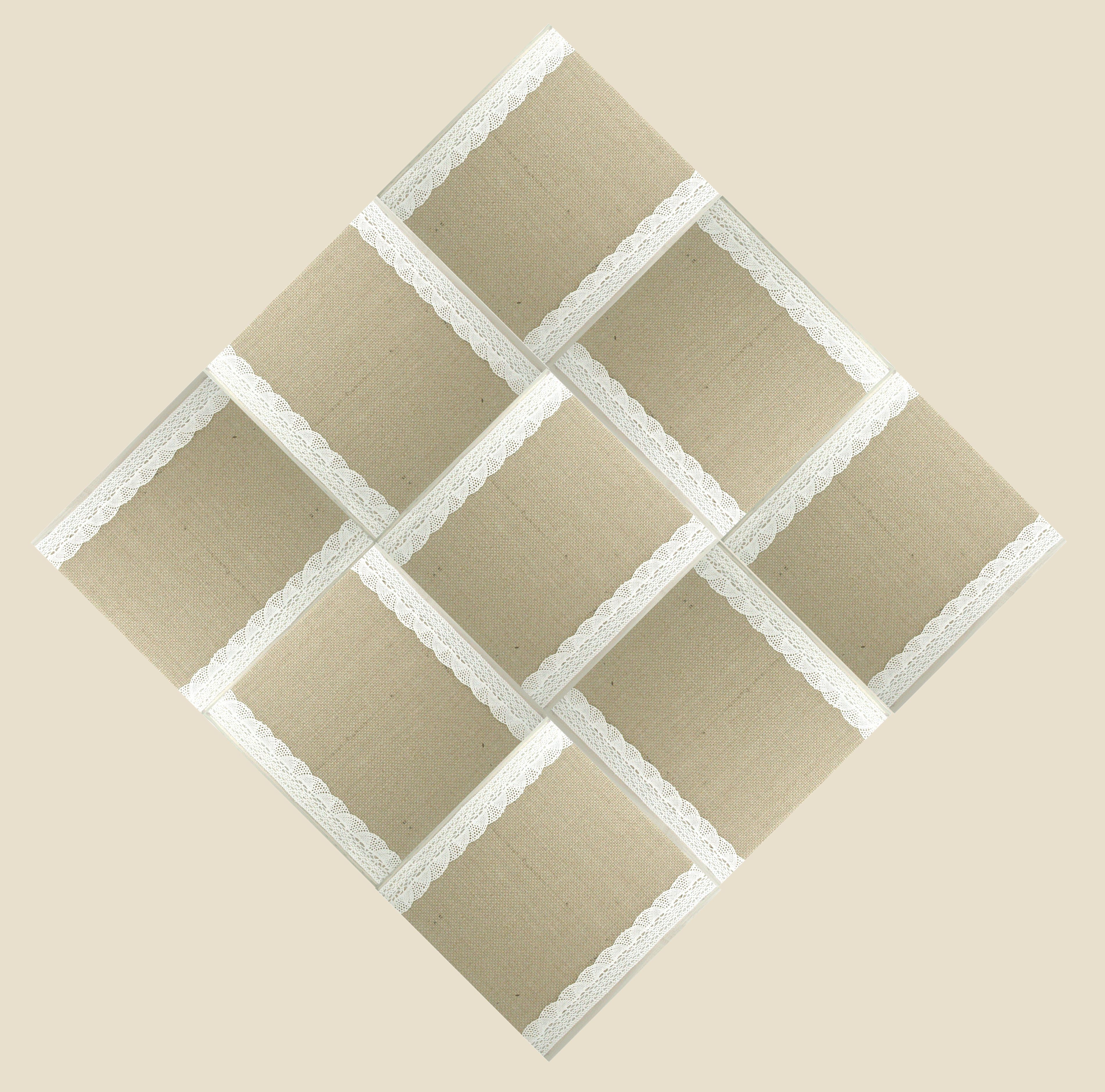 Interior Tiles Leather / Textiles. Size of single tile 20x20. Size ...