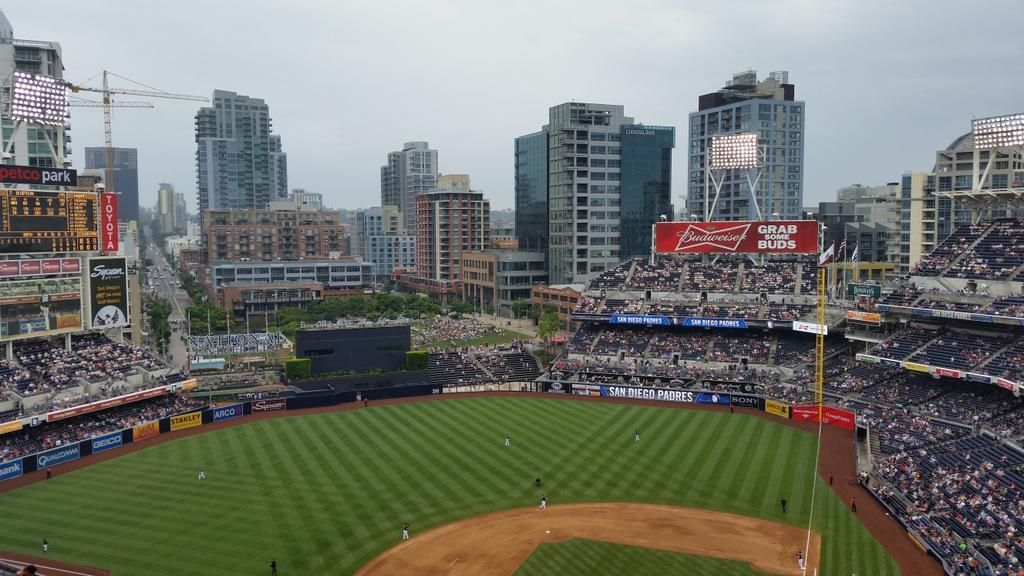 San Diego Padres baseball game at Petco Park in San Diego