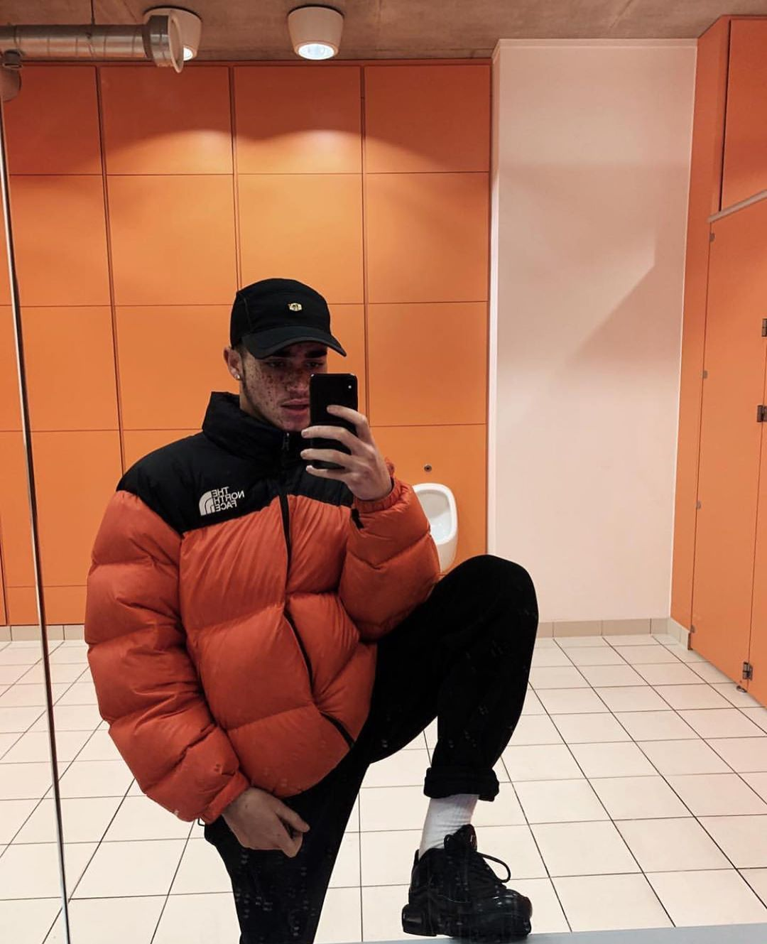 Quarantino Tarantino On Instagram An Outfit For All My Guys Down South Unreap In 2020 Mens Outfits Men Fashion Casual Outfits North Face Bubble Jacket [ 1329 x 1080 Pixel ]
