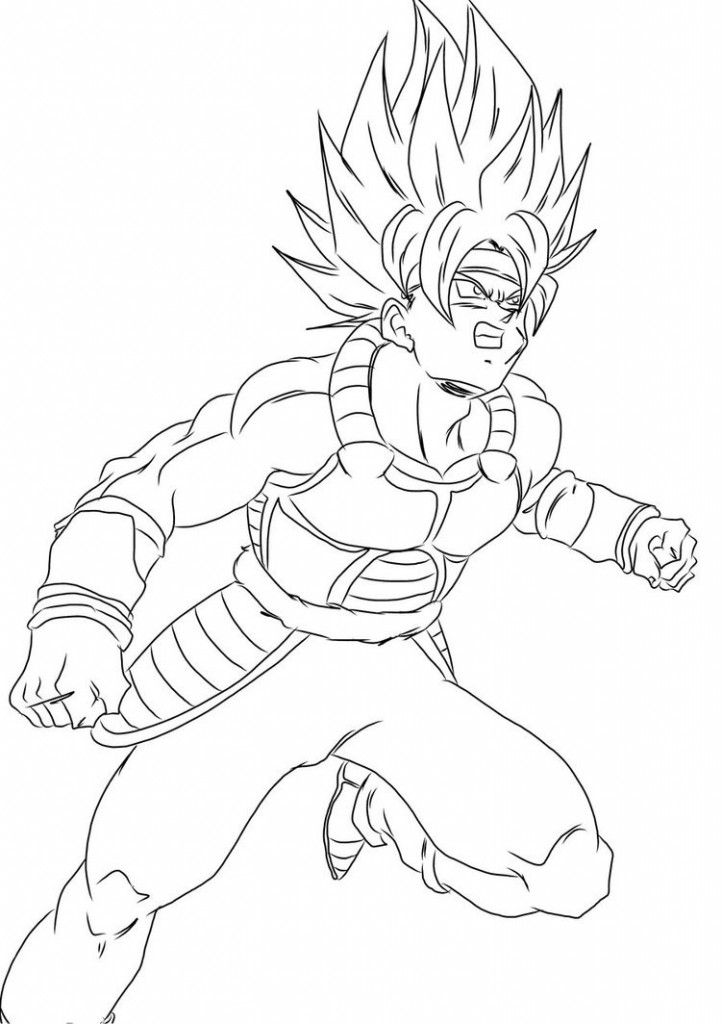 Free Printable Dragon Ball Z Coloring Pages For Kids Dragon