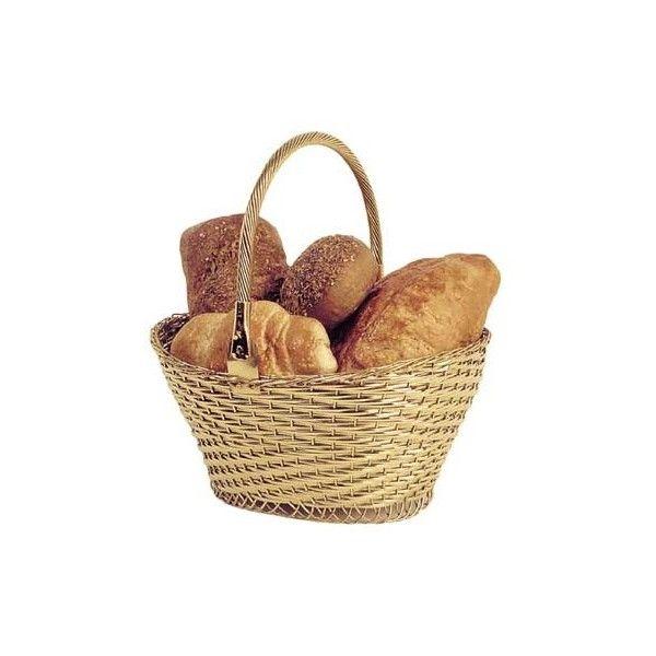Brass Bread Basket Liked On Polyvore Bread Basket Food Png Basket