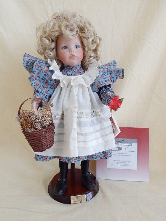 83b00686652 Vintage Ashton Drake Porcelain Doll
