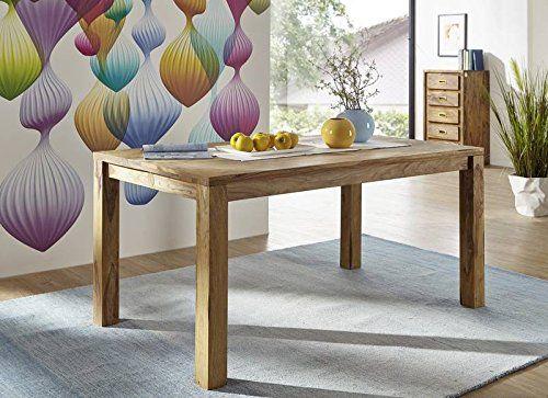 Palisander Massivmöbel geölt Esstisch 120x90 Sheesham Holz