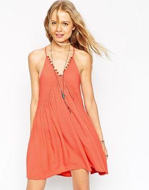 7dfaeb2af7 ASOS Cami Pom Pom Sundress Maxi Dresses, Party Dresses, Cami, Fashion  Online,