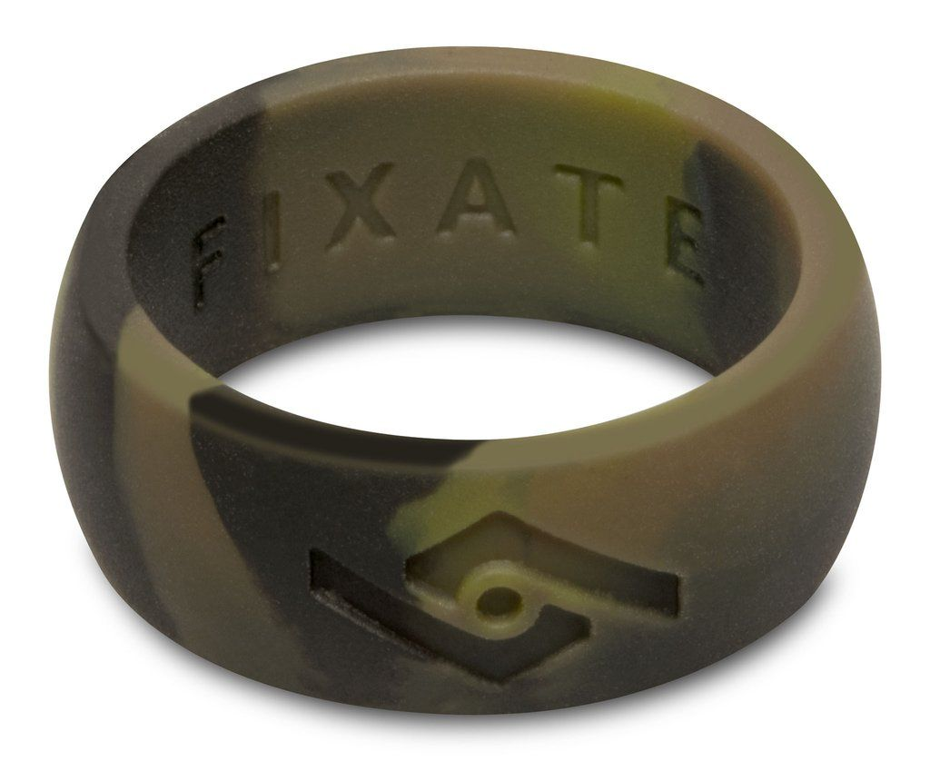 Fixate designs fx8 mens wedding ring silicone rings