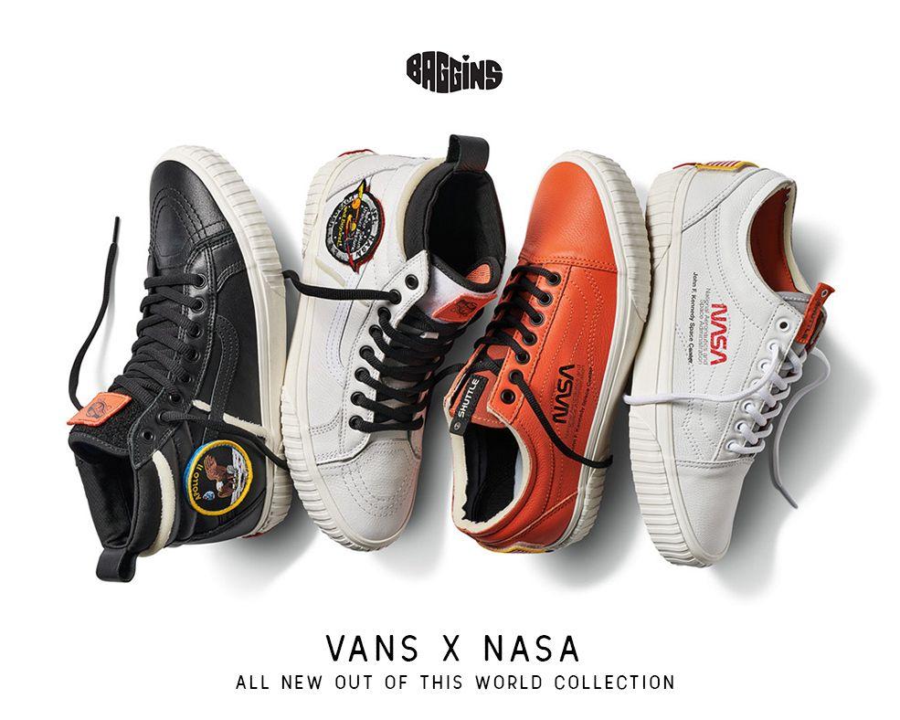 Vans x NASA Celebrates NASA's 60th Birthday | Sneakers, Vans
