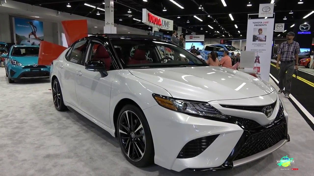 Review 2019 Toyota Camry Red Interior And Images. Feels ...