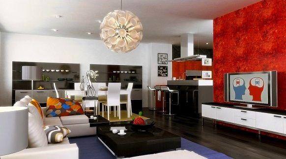 Pin de Rogelio Jasso en muebles modernos | Salas y comedor juntos ...