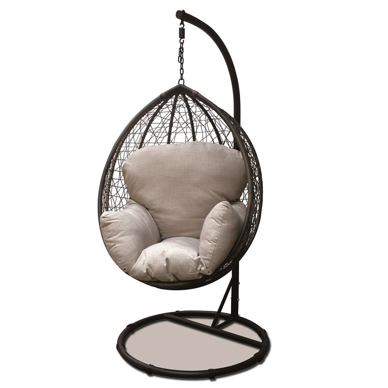Outdoor Swing Chair Bunnings Armchair And Ottoman Slipcover Mimosa Swinging Egg From So Cute For Outside Love It 349 Other Home Ideas Hanging