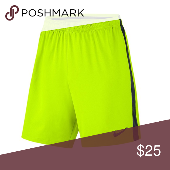 845aaec6 NWOT Nike Mens Neon Dri Fit Dry Squad Shorts New without tags! 19 ...