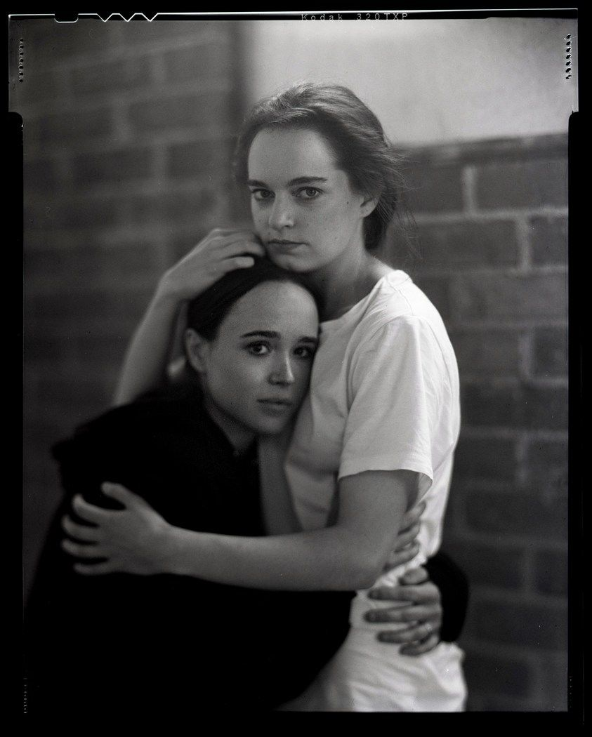 Bernstein Andriulli News We Are The Rhoads Shoot Ellen Page Emma Portner For T Magazine Ellen Page Ellen Page Girlfriend Ellen