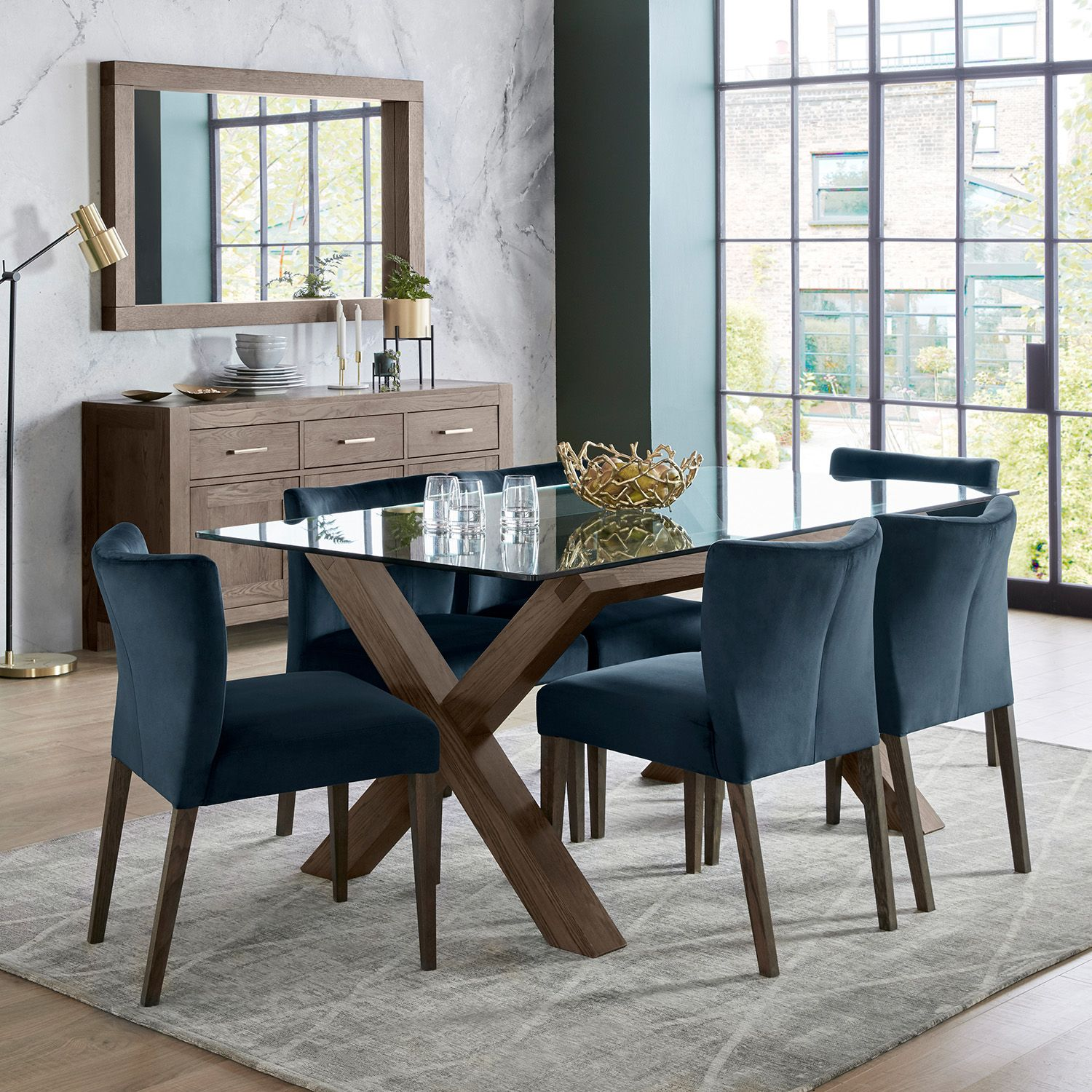 Dining Set Turin Indoor Furniture Modern Dining Modern Dining Room