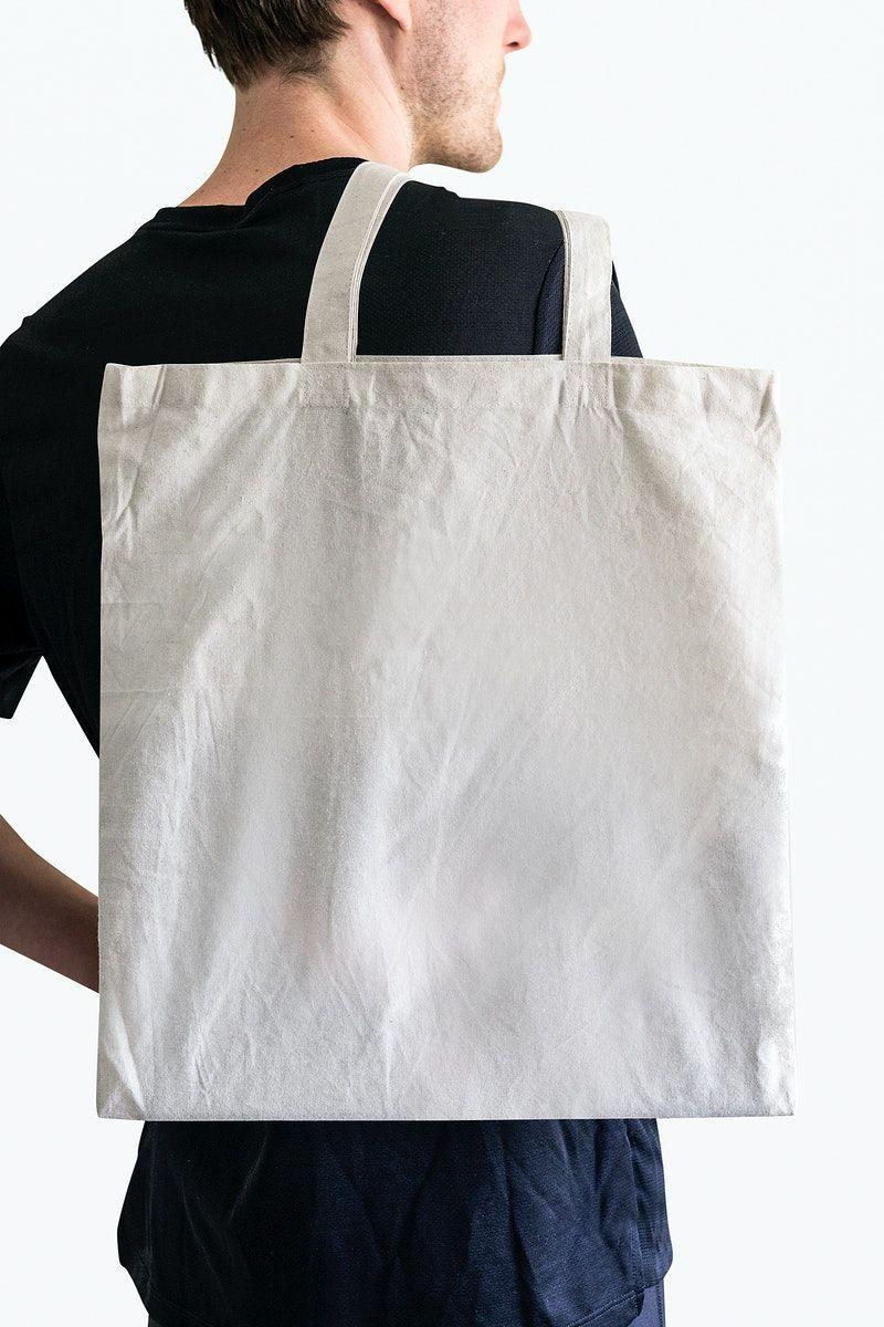 Download Cotton Tote Bag Mockup Psd Men S Apparel Free Image By Rawpixel Com Felix White Tote Bag Tote Bag White Tote