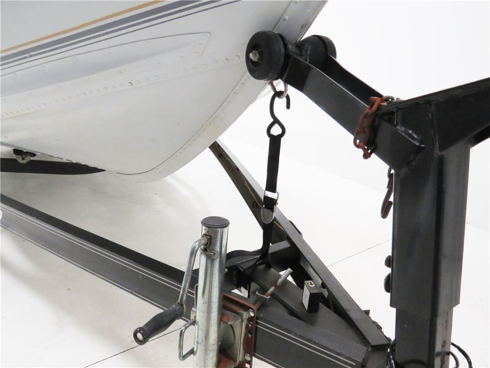 Designed with threepoint trailer tiedown safety in mind