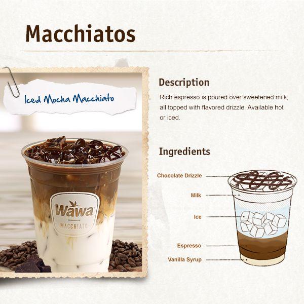 Wawa Beverages Lattes Hot Chocolates More Macchiato Recipe Caramel Macchiato Recipe Mocha Recipe