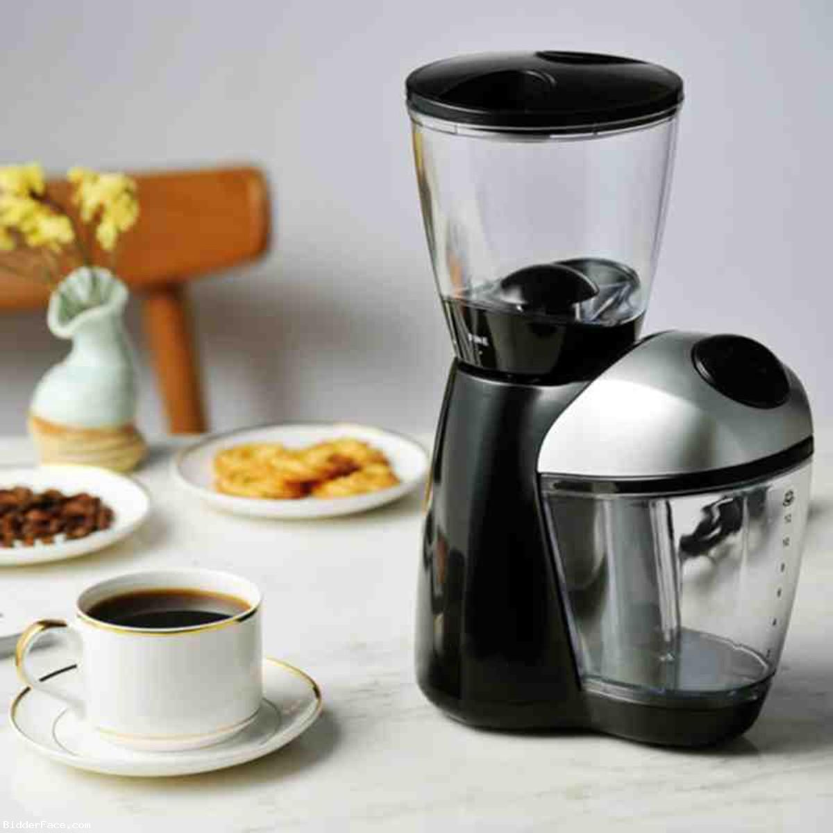 220-240V 50/60Hz Electric Automatic Coffee Bean Mill ...