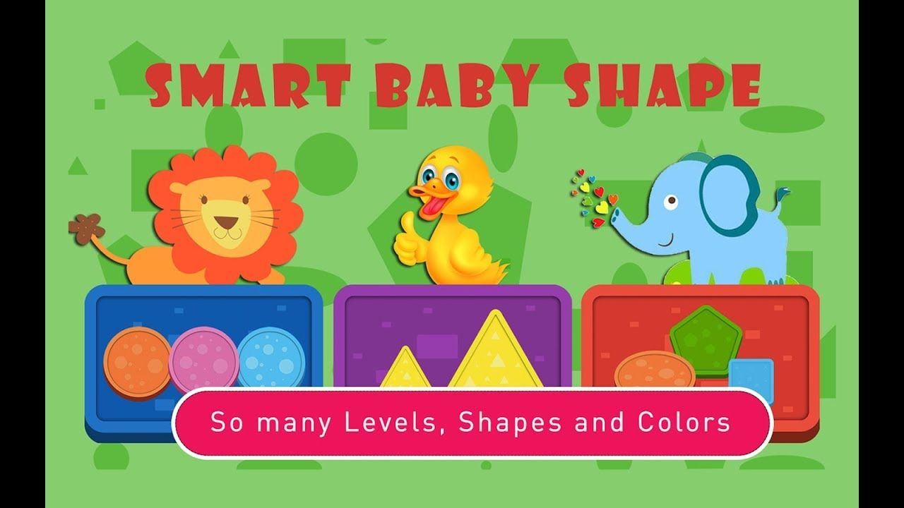Smart Baby Shapes / Colors, Shapes, Education / Videos Games for ...