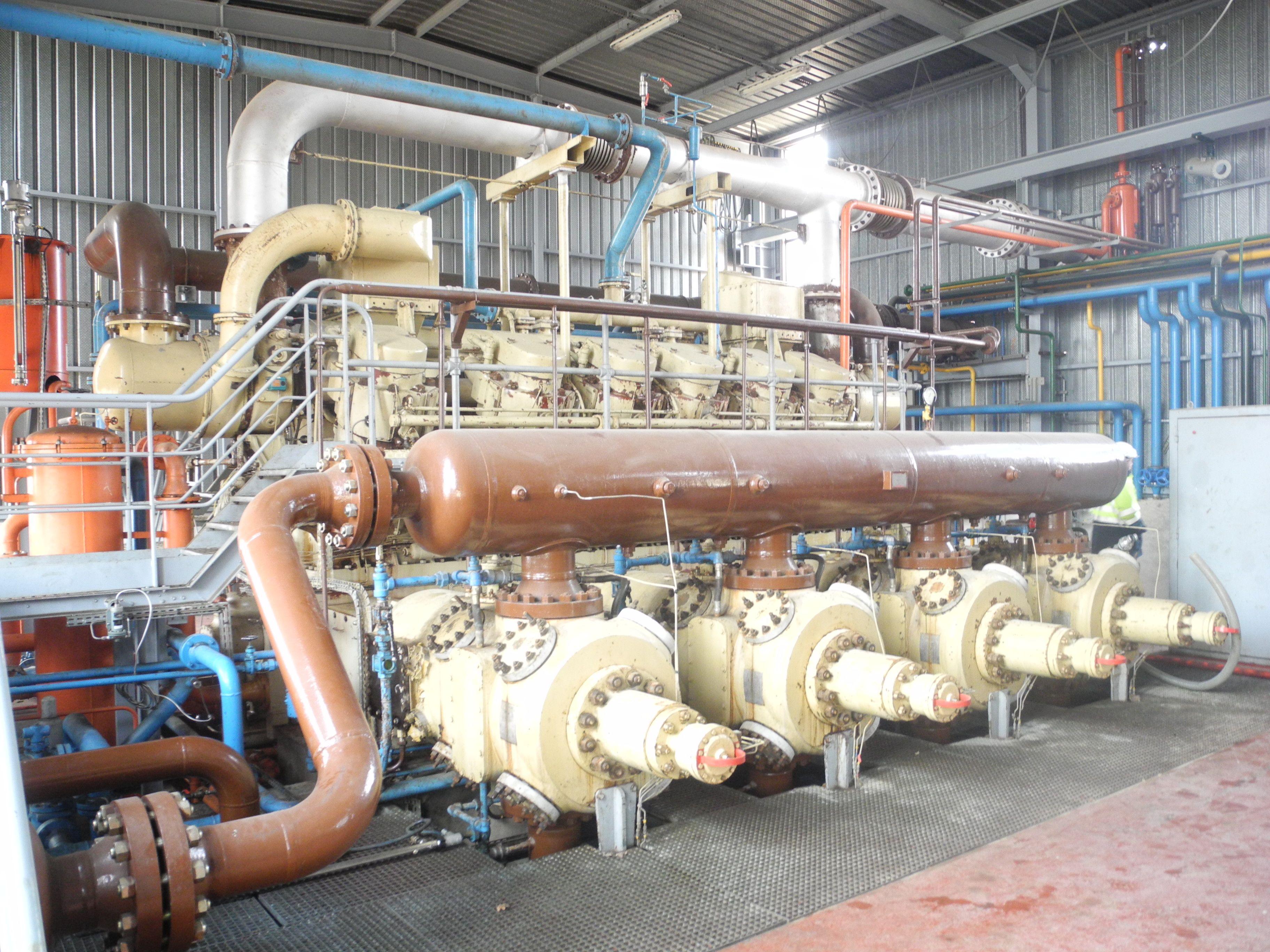 Ingersoll Rand Kvs 12 Gas Compressor