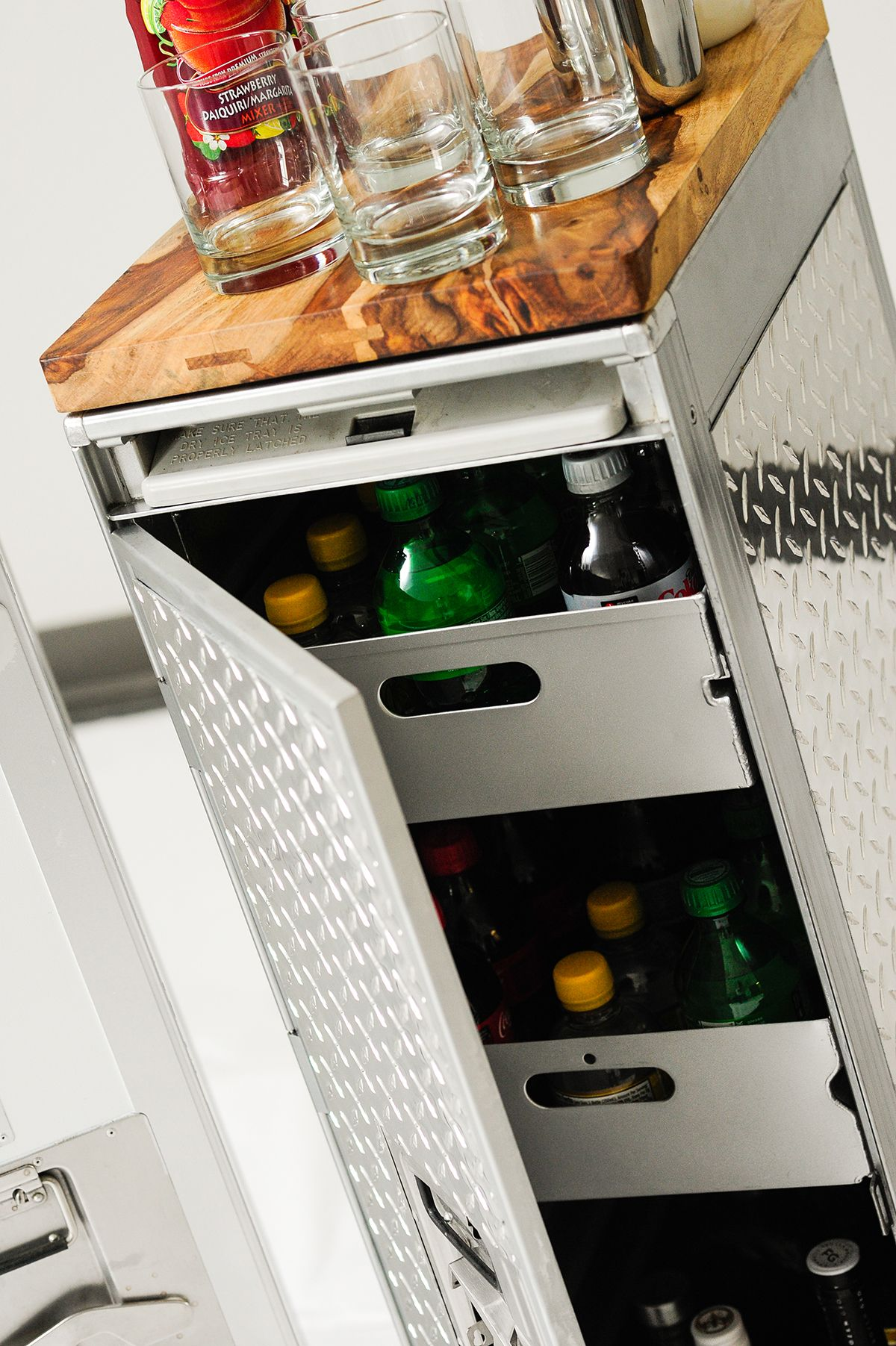 Customized #airline #Galley #Cart a must get for the home retro bar ...