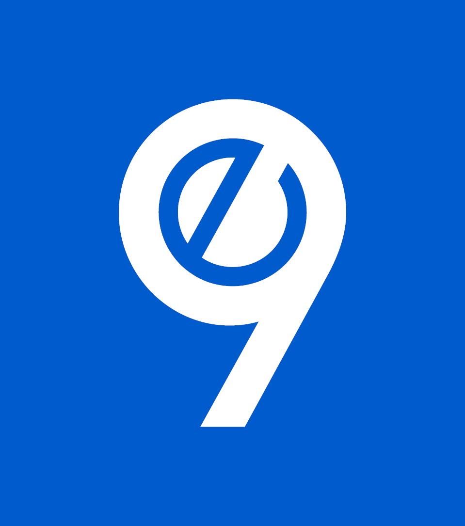 E9 Logomark Blue Background White Foreground Blue Backgrounds Logo Design British Leyland Logo
