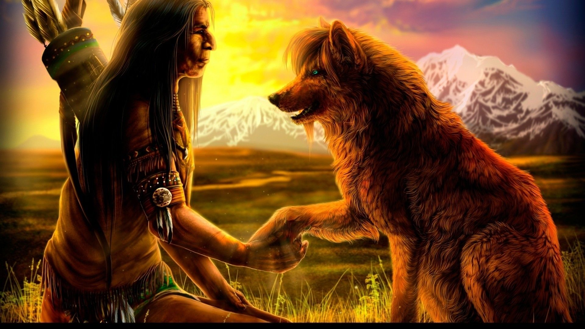 HD Red Indians Wallpaper Download Free 105716 Native