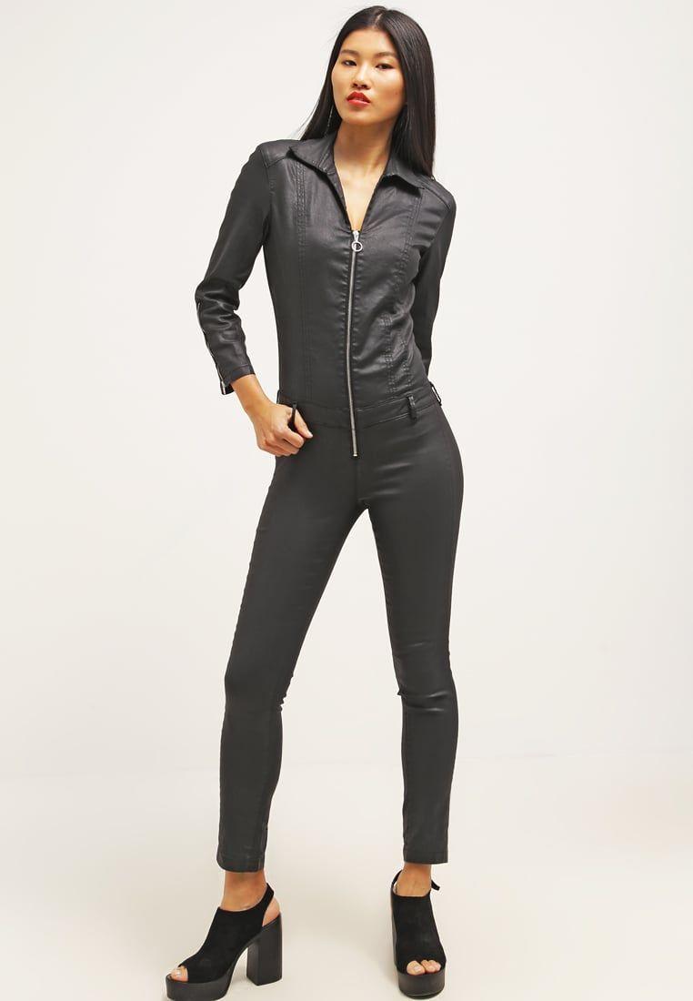065c870c6d2 Guess Combinaison black jeather prix promo Combinaison Femme Zalando 149.90  €